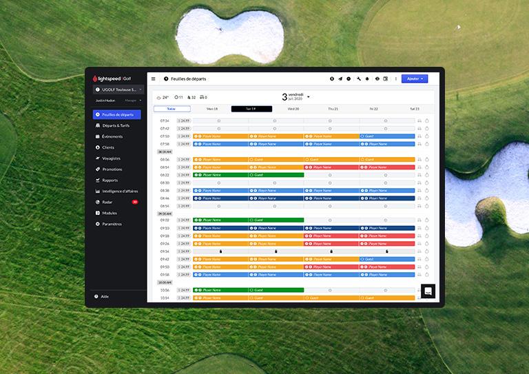 Un système parfait pour la gestion des terrains de golf privés