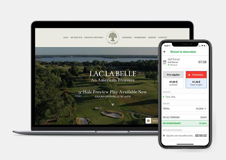 Augmentez votre présence grâce à un site web et une application mobile